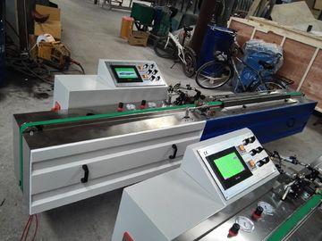 O PLC controla a velocidade de trabalho 4~40m da máquina butílica automática da extrusora de PIB/minuto 2.2KW